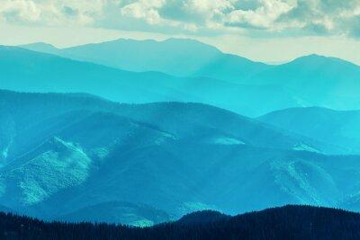 Adesivo Montanha no verão
