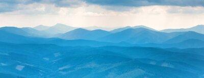Adesivo Montanhas azuis