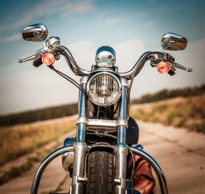 Adesivo Motocicleta na estrada