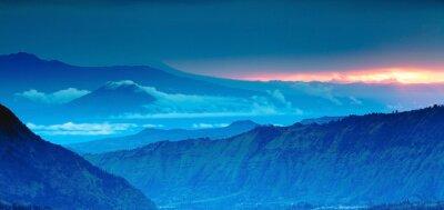 Adesivo mountain panorama on the top view,Blue Mountains