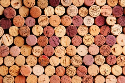 Adesivo Muralha da Cortiça do vinho