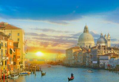 Adesivo Nascer do sol em Veneza