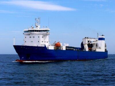 Adesivo Navio de carga Ro-Ro