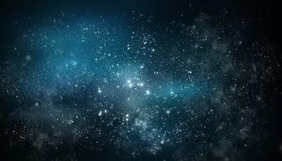 Adesivo Nebulosa e galáxia./ Universo cheio de estrelas.