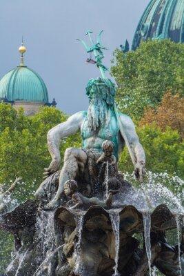 Adesivo Neptunbrunnen und Berliner Dom, Berlim