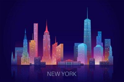 Adesivo New York skyline