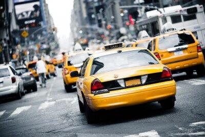 Adesivo New York táxi