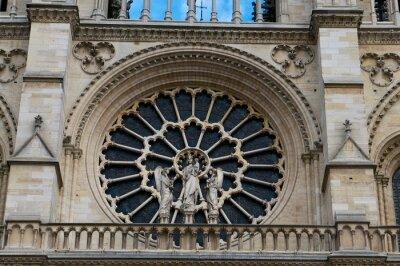 Adesivo Notre Dame