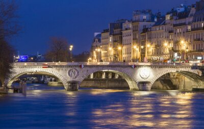 Adesivo O Pont Saint Michel, Paris, França.