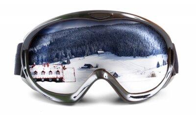 Adesivo Óculos de esqui