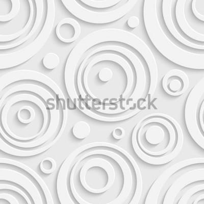 Adesivo Padrão de círculos sem emenda