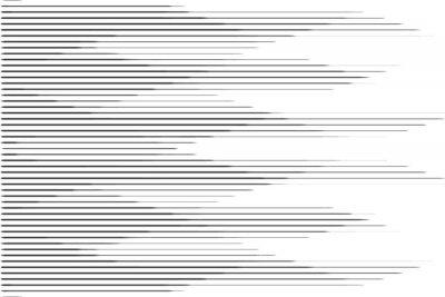 Adesivo Padrão de meio-tom da linha de velocidade horizontal com efeito de gradiente. Modelo para fundos e texturas estilizadas.