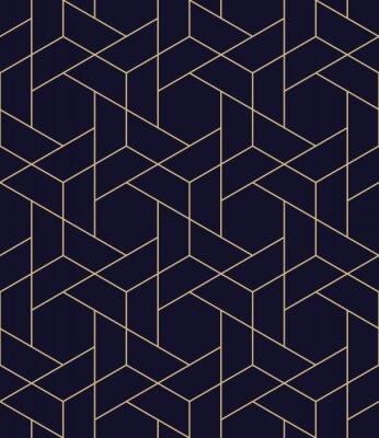 Adesivo padrão de vetor de grade geométrica sem costura simples