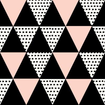 Adesivo Padrão geométrico abstrato