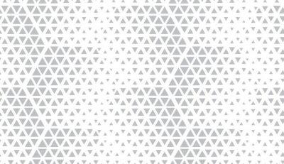 Adesivo Padrão geométrico abstrato. Vetor sem costura de fundo. Meio-tom branco e cinza. Padrão moderno gráfico. Projeto gráfico da estrutura simples.