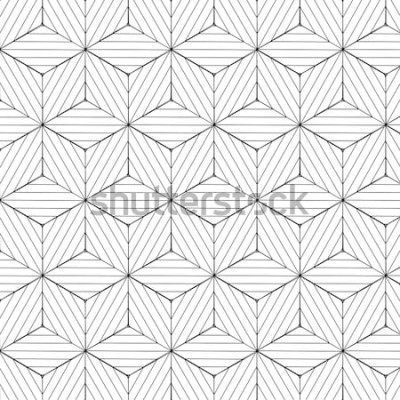Adesivo Padrão geométrico preto e branco, vetor de fundo.