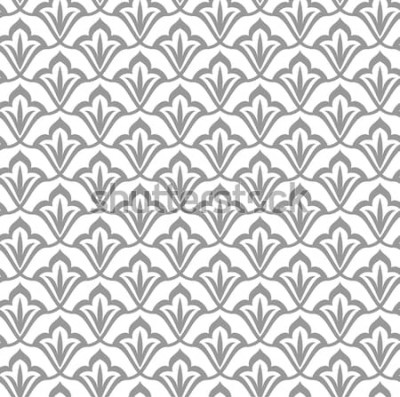 Adesivo Padrão ornamental. Padrão sem emenda árabe. Fundo marroquino.