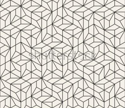 Adesivo Padrão sem alteração de vetor. Textura abstrata elegante moderna. Repetindo azulejos geométricos de elementos listrados