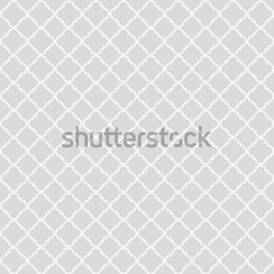 Adesivo Padrão sem emenda abstrato geométrico. Fundo clássico. Ilustração vetorial
