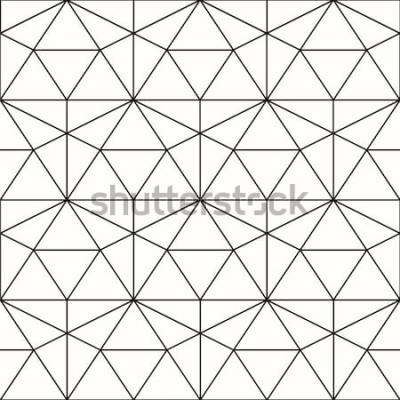 Adesivo Padrão sem emenda de vetor. Fundo geométrico com losango e nós. Padrão geométrico abstrato. Textura cinza. Sem costura padrão geométrico.