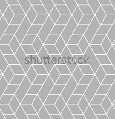 Adesivo Padrão sem emenda de vetor. Textura elegante moderna. Repetindo azulejos geométricos com triângulos.