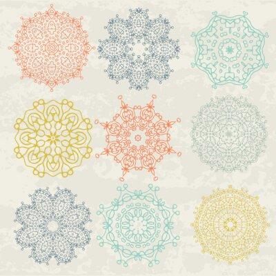 Adesivo Padrões circulares