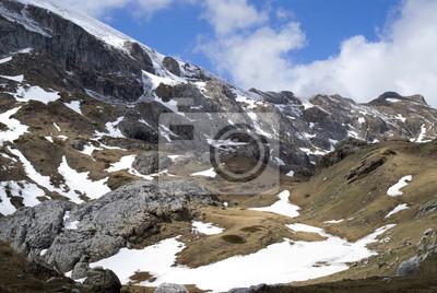 Adesivo Paisagem das montanhas da Ligúria parte da Alpes italianos