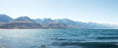 Adesivo Paisagem, lago, verão, dia, Novo, zelândia