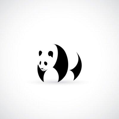 Adesivo Panda ícone