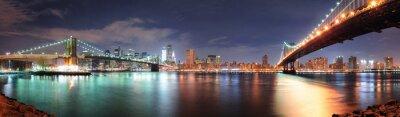 Adesivo Panorama da cidade de nova york