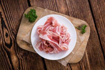 Adesivo Parcela, cru, bacon