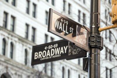Adesivo Parede do sinal da rua em New York