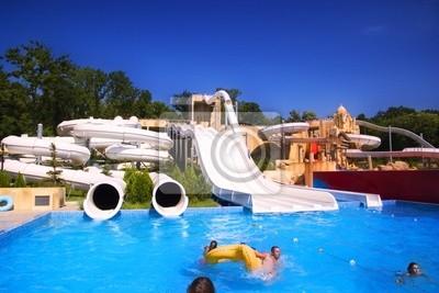 Adesivo Parque aquático
