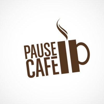 Adesivo pause café