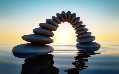 Adesivo Pedra no mar