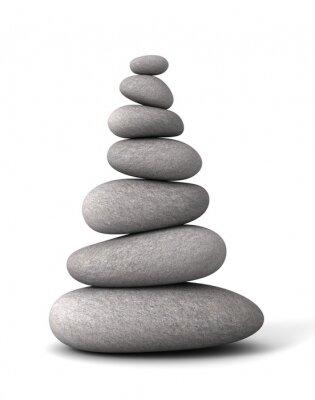 Adesivo Pedras de equilíbrio