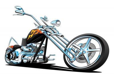 Adesivo Personalizado American Chopper Motorcycle