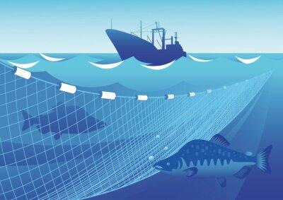 Adesivo Pesca no mar