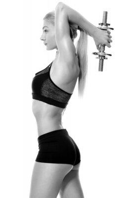 Adesivo Pesos Sexy e em forma de elevação mão da mulher