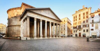 Adesivo Piazza della Rotonda e il Pantheon, Roma