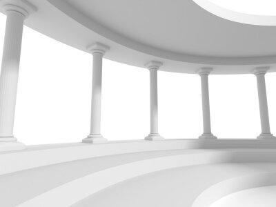 Adesivo Pilares colunas projeto arquitetura fundo