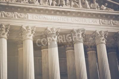 Adesivo Pilares Estados Unidos Supremo Tribunal de Justiça e do Direito