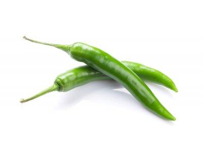 Adesivo Pimentas de pimentão verdes