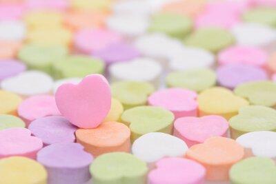 Adesivo Pink Cndy Heart