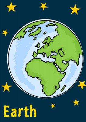Adesivo Planeta Terra
