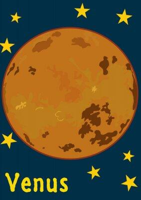 Adesivo Planeta Vênus