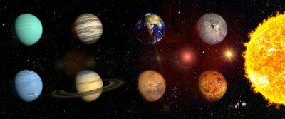 Adesivo Planetas do nosso sistema solar