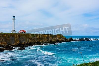 Adesivo Point Arena Lighthouse na Califórnia