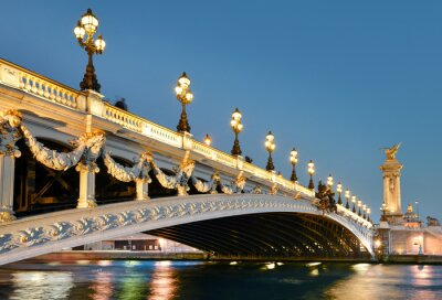 Adesivo Pont alexandre, Paris