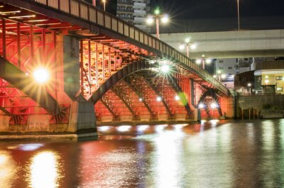 Adesivo Ponte da Noite de Tóquio